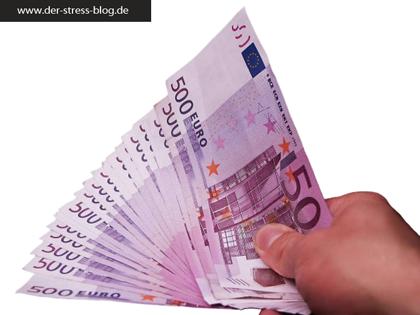 Stress mit dem lieben Geld
